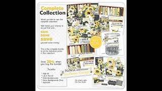 Sunflower Cottage Collection Digital Kit Release | Nitwit Collections™