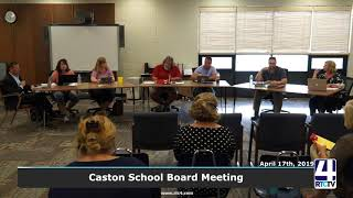 Caston School Board - 7-24-19