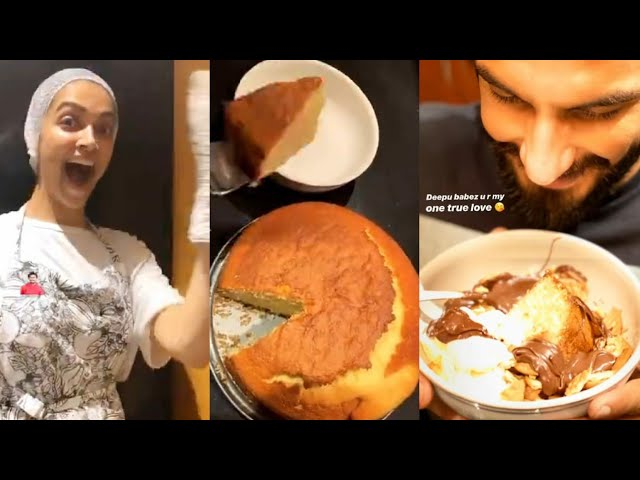 Deepika Padukone Turns Master Chef For Ranveer Singh, Cooks & Bakes Cake