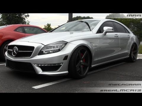 Mercedes Benz CLS 63 AMG V8 Biturbo RENNTech on Vossen Wheels Walkaround
