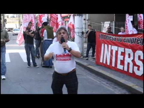 Greve dos Bancários - Contra a PL4330 - 04 de Julho <br> TV Bancária