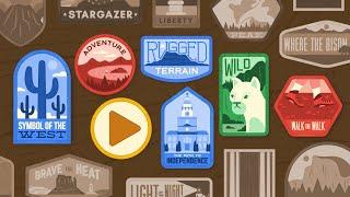 Google Doodle Celebrating U.S. National Parks