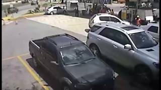 Shooting At A Gas Station In San Francisco