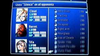 Final Fantasy VII Perfect File without W-Item Extension (NTSC - 100% COMPLETE)