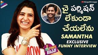 Samantha Exclusive FUNNY Interview | U Turn Telugu Movie | Samantha Akkineni | Telugu FilmNagar
