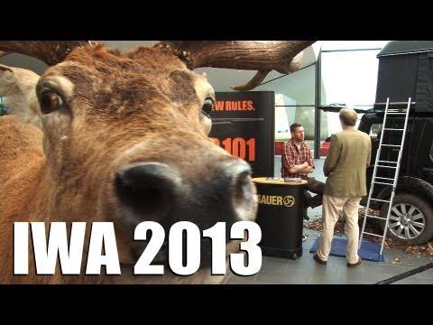 Gun show IWA 2013 + RUAG range day