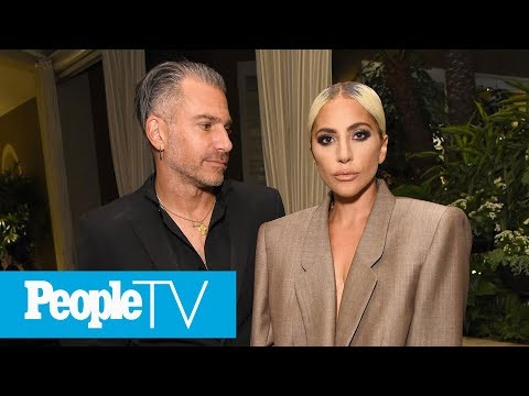 Lady Gaga Confirms Engagement As She Calls Christian Carino Her 'Fiancé' In Speech | PeopleTV