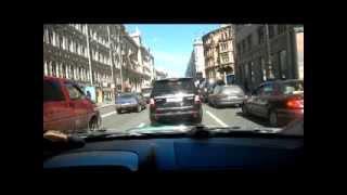 Уроки автовождения на автоматической коробке передач по городу.