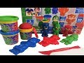 PJMASKS Mould & Make PJ Masks Heroes Playset Toys For Kids