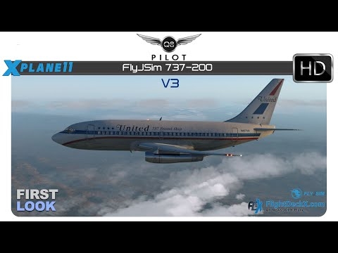 X-Plane 11] FlyJSim 732 TwinJet v3 | KSFO ✈ KFAT | First Look - Q8Pilot