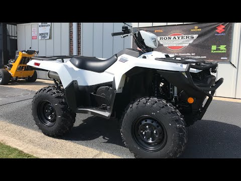 2020 Suzuki KingQuad 500AXi Power Steering with Rugged Package in Greenville, North Carolina - Video 1