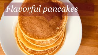 how to make pancakes with flour and no milk