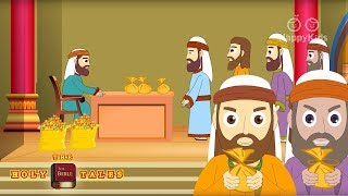 Jesus and the Tax Collector I New Testament Bible Stories| Holy Tales Bible Stories