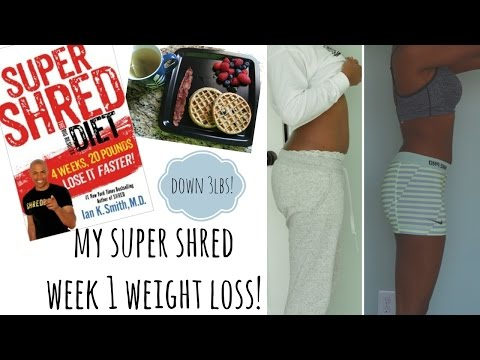 Super Shred Diet Results!