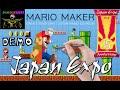 [JAPAN EXPO 2014] Demonstration de Mario Maker sur Wii U