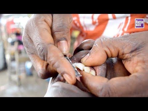 OMG Fashion! Nigerians file gap in their teeth