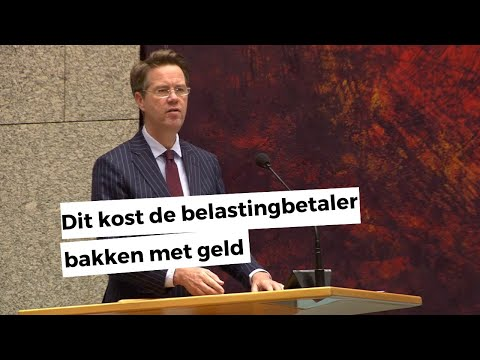 De Wereld Graait Door: Kamerlid Martin Bosma (PVV) Trekt De Beerput Op Het Mediapark Open