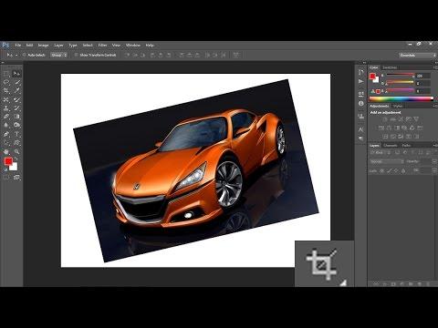 Photoshop CS6: Cắt gọn ảnh bằng Crop Tool - cơ bản bài 05