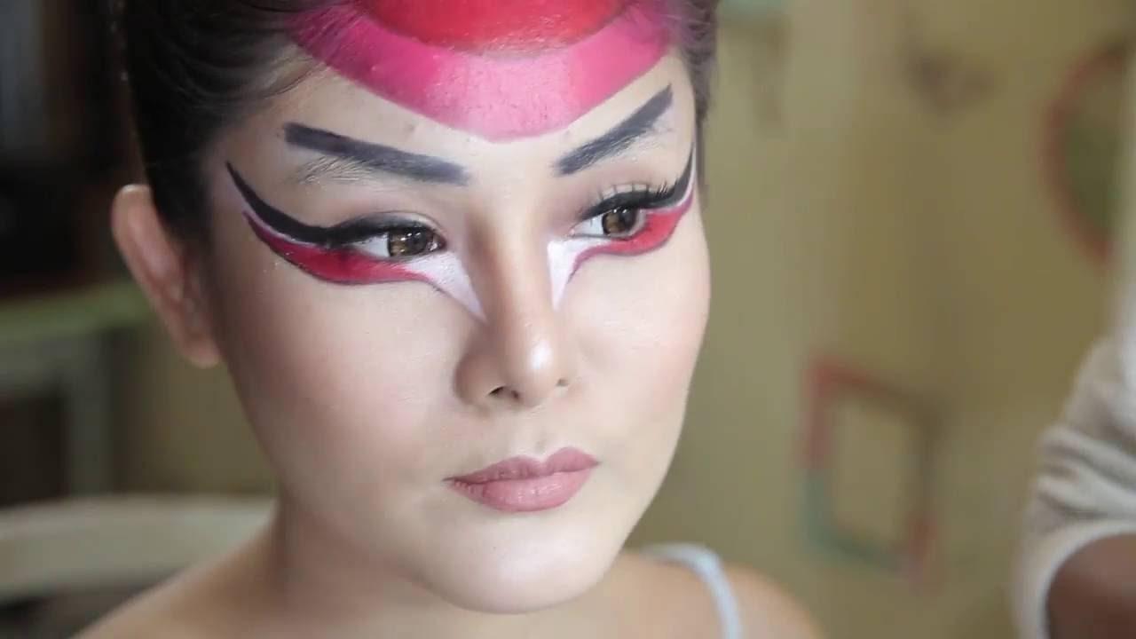 Body Painting Dragon Lady Yakuza Jakarta