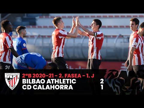 ⚽ Resumen I 2. Fasea – 1. J – 2ªDiv B I Bilbao Athletic 2-1 CD Calahorra I Laburpena