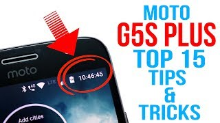 Moto G5S Plus Tips And Tricks | Top 15 Best Features Of Moto G5S Plus | Hindi |