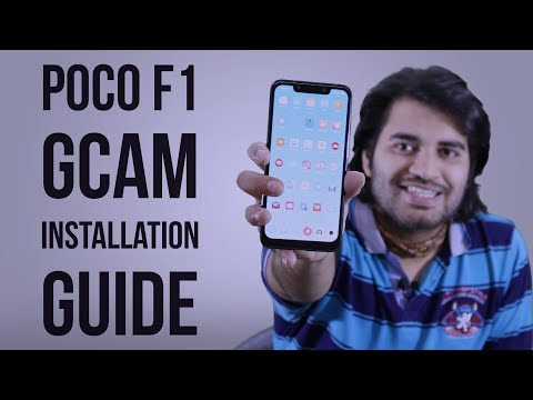 Install Full Working Google Camera on Poco F1 - смотреть онлайн на