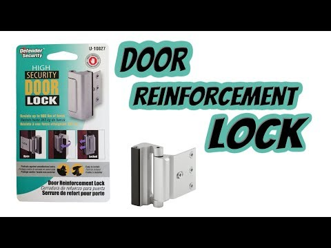 Prime-Line Products U 10827 Door Reinforcement Lock