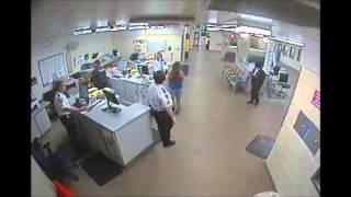 PCSO Jail Booking Video- Inmate Amber Arnesen