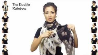 25 способов как завязать платок