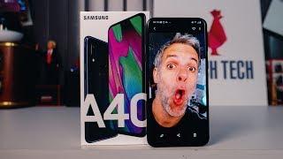 Samsung Galaxy A40 - Le Test