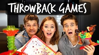 THROWBACK GAMES CHALLENGE!