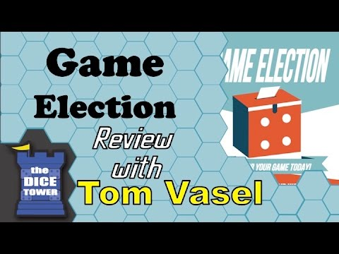 Dice Tower Reviews: Game Election