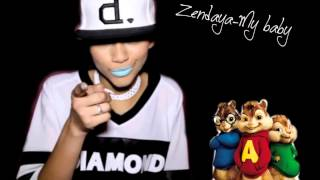 Alvin and chipmunks - My baby ( Zendaya)