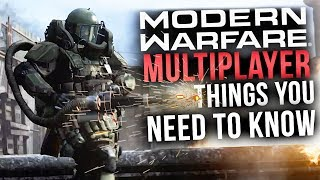 Modern Warfare 2019 Multiplayer - 7 Things You NEED TO KNOW