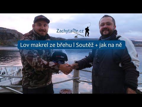 Lov makrel ze břehu l Soutěž + jak na ně