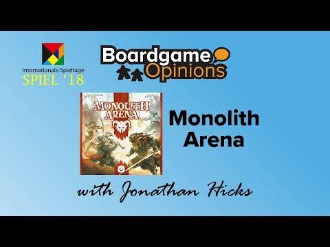 Boardgame Opinions: Monolith Arena