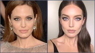 Angelina Jolie Makeup Tutorial! | Emily DiDonato + Erin Parsons