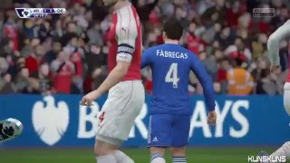 Arsenal Vs Chelsea 01 All Goals & Full Highlights Barclays Premier League Highlights 2016