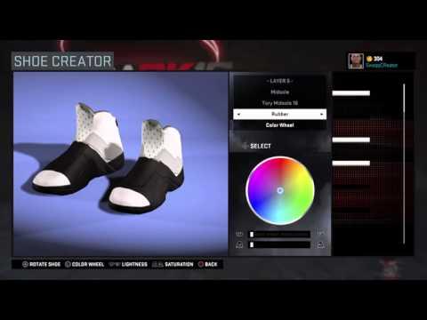 Nba 2k16 How To Make Sandals/Slides