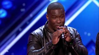 Final Draft: Guys Group WOWS Crowd with 'It's a Man's Man's Man's World'   America's Got Talent 2017