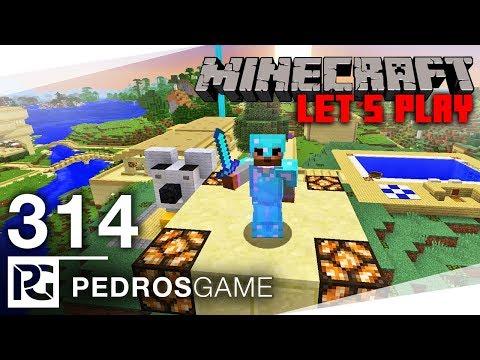 GENIÁLNÍ OBOUSMĚRNÝ VÝTAH | Minecraft Let's Play #314