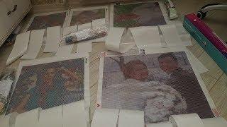 Портреты из страз от AZQSD и Huacan. Тина Кароль. Фото- макет- готовые портреты.