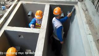 Chống Thấm Bể Phốt   Septic Tank Waterproofing