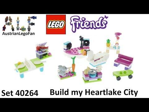Vidéo LEGO Friends 40264 : Ensemble d'accessoires « Je construis mon Heartlake City » LEGO Friends