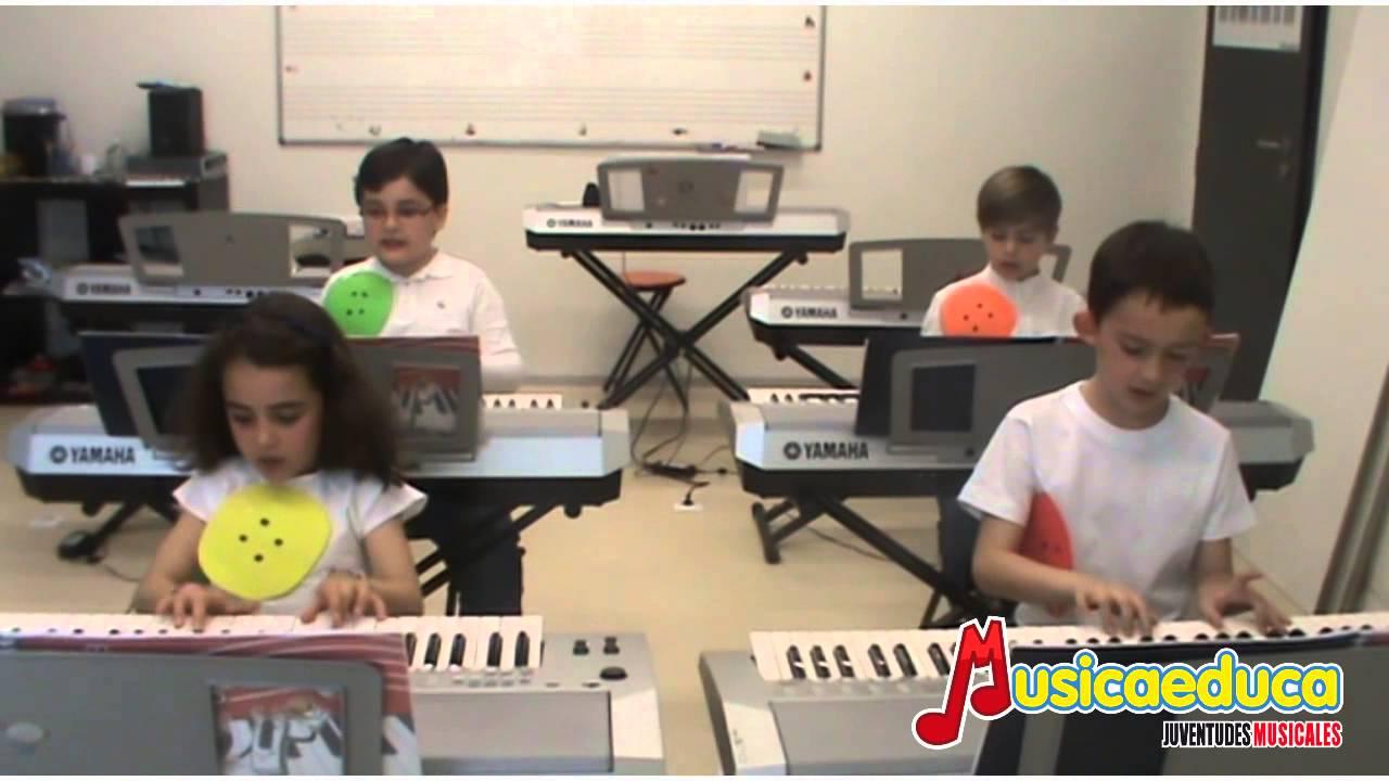 Debajo un botón - Grupo de alumnos de Mi Teclado 2 - Musicaeduca Ciudad Real