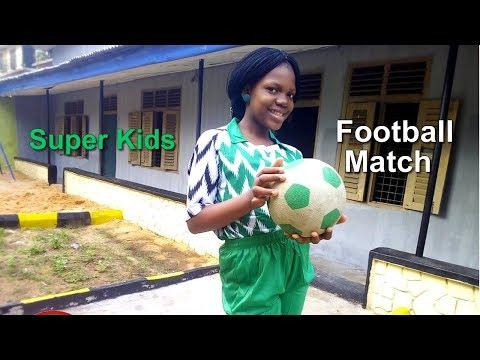 Super kids -  Football Match (Video)