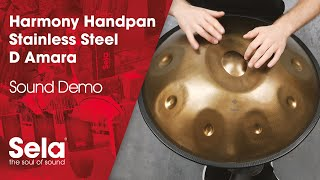 Handpan D Amara Stainless Steel