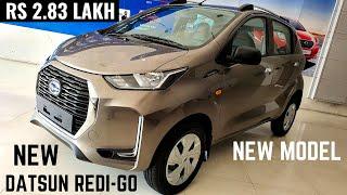 2020 Datsun Redi GO Facelift Budget Hatchback - New Interiors, Latest Features, Price | RediGO 2020