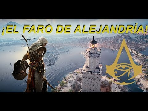 ¡ESCALANDO EL FARO DE ALEJANDRÍA! | Assassin's Creed Origins | Laink51