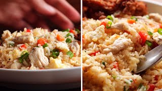 Chicken Fried Rice Recipe- under 30 min
